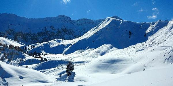 Rund um das Berghaus kann man auch wunderbar spazieren.