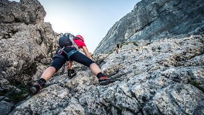 Klettersteig Traunstein : Die schönsten klettersteige in traunstein