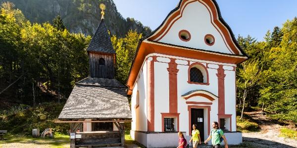 Glückswanderweg, Bergkapellen Maria Elend