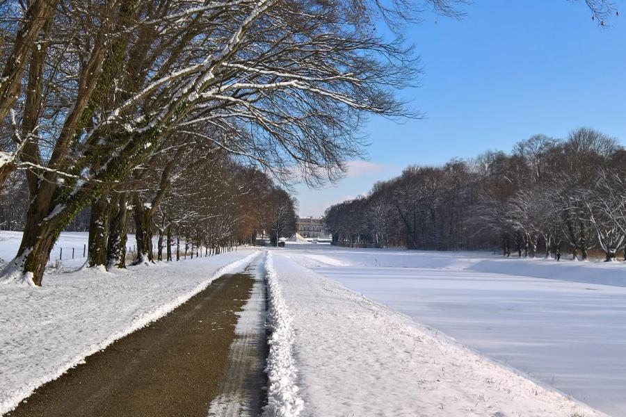 Winterwandern rund um die Herreninsel über Ottos und Pauls Ruh