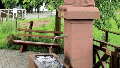 Löwenbrunnen in Hammelbach