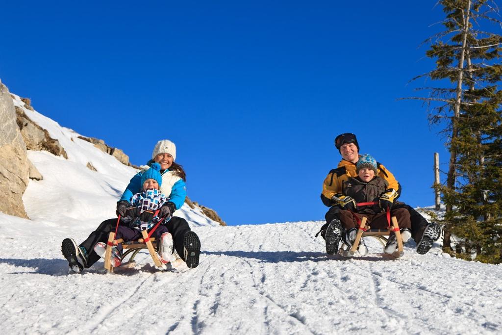 Winter Rodeln - @ Autor: Pfronten Tourismus - © Quelle: p