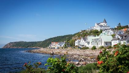 Discover small fishing villages along the coast such as Mölle