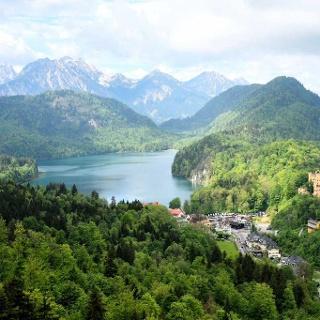 Bayerische Alpen: Starnberg-Füssen