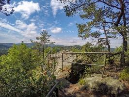 Foto Aussichtsstelle auf dem Großen Pohlshorn