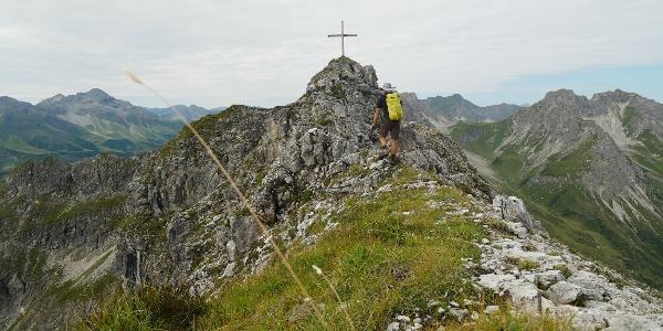 Gipfelbesteigung Grießgundkopf
