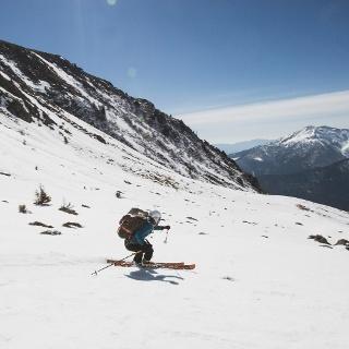 Sci alpinismo a Malga cere