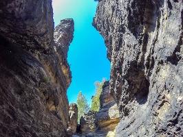 Foto Die Felsengasse an den Herkulessäulen