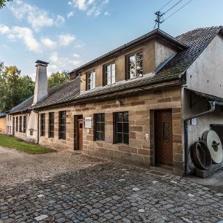 Die ehemalige Hammerschmiede Museum Historischer Eisenhammer Eckersmühlen