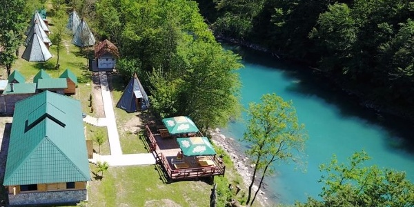 Highlander rafting camp