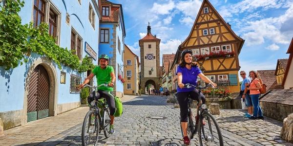 Das mittelalterliche Rothenburg ob der Tauber per Rad entdecken!