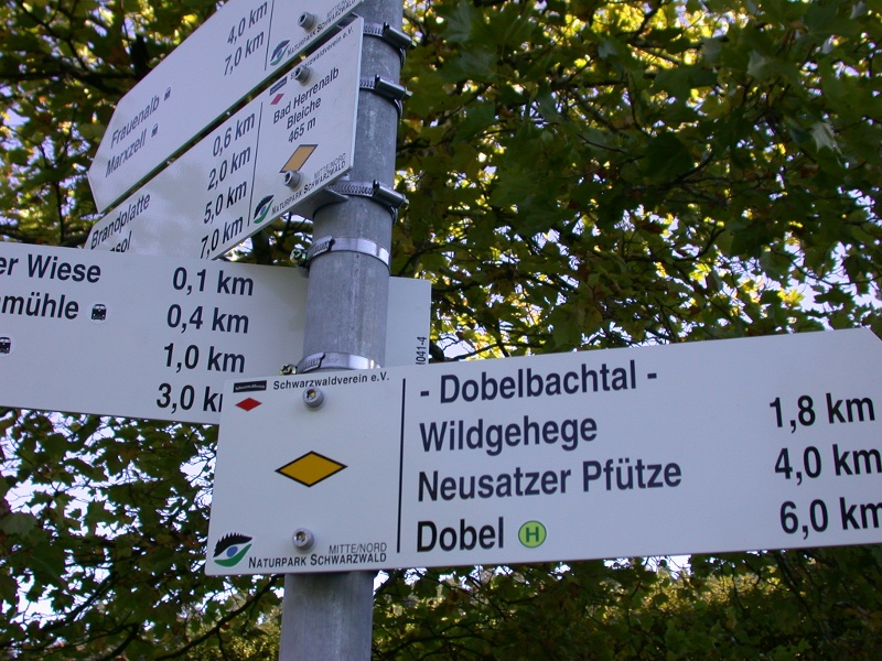 Rundweg Bad Herrenalb - Dobel