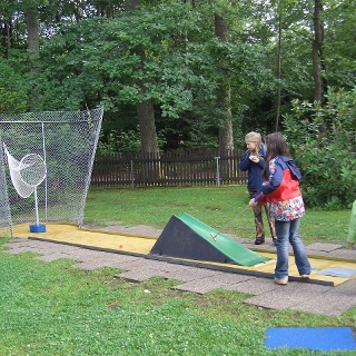 Minigolf im Kurpark Schömberg