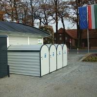 Fahrradboxen und Gepäcksafes - Standort Gartenschaupark Eingang Nord