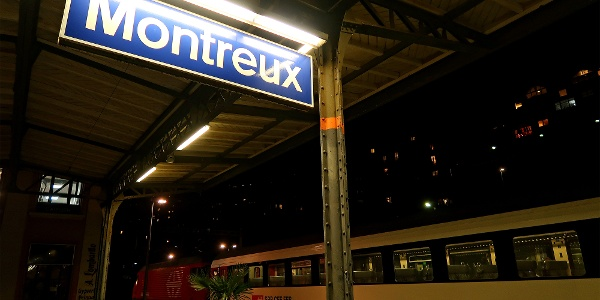 Bahnhof Montreux.