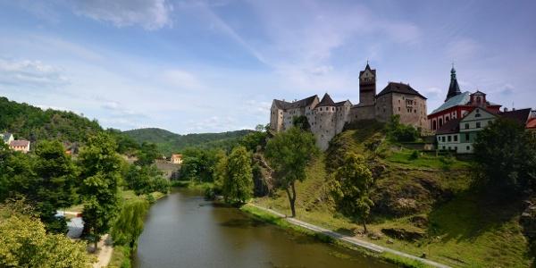 Burg Loket/Elbogen an der Eger