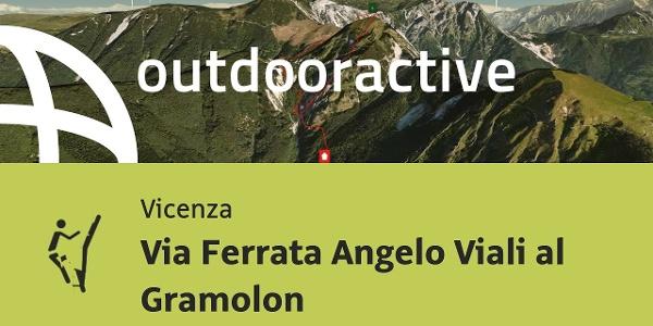 Klettersteig in Vicenza: Via Ferrata Angelo Viali al Gramolon