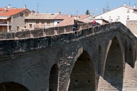 Puente la Reina: Pilgeerbrücke