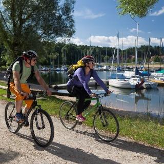 Radeln am Rothsee