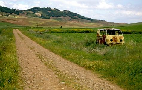 Camino von Azofra nach Cirueña-Ciriñuela