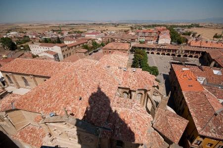 Blick über die Dächer von Santo Domingo