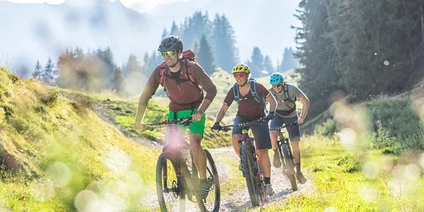 Mountainbiken am Sonnenbalkon