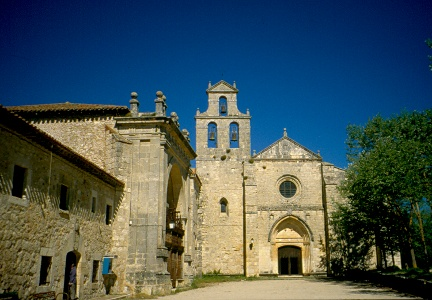 Abschied mom Kloster San Juan de Ortega