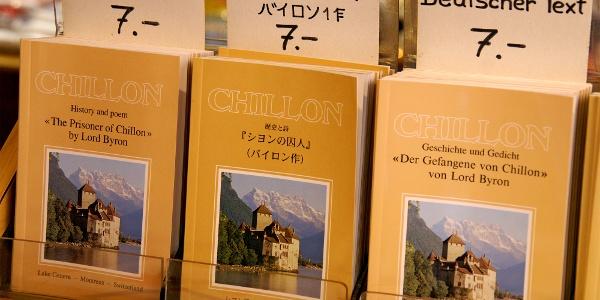 Literatur im Schloss Chillon.