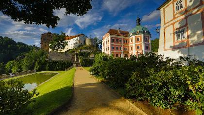 Burg und Schloss Petschau / Becov
