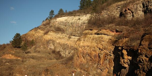 A sámsonházai volt kőfejtőben geológiai tanösvényt alakítottak ki