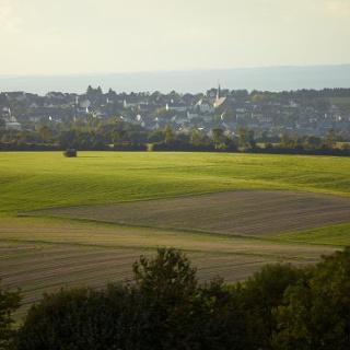Wanderurlaub: Aussicht auf Monzelfeld