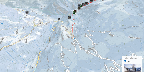Winterwanderung in den Stubaier Alpen: Von Stuls zur Eggergrubalm