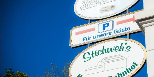 Stichweh's Hotel am Bahnhof in Elze