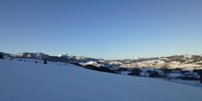 Reuterwanne Vormittagstour Von Hinterreute Schneeschuh