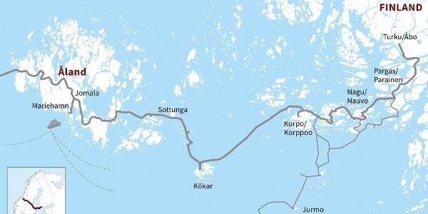 St Olav Waterway through the Finnish Archipelago and Åland Islands