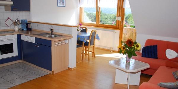 Wohnbereich Wohnung 4