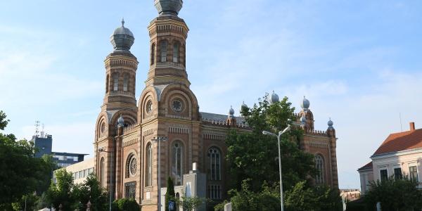 A szombathelyi zsinagóga Magyarország első tornyos zsinagógáinak egyike