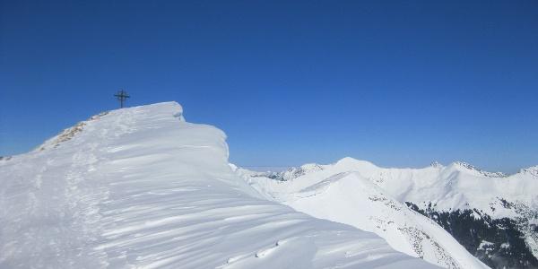 Gipfel der Bleispitze (2225m)