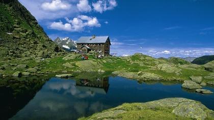 Nürnberger Hütte in den Stubaier Alpen