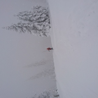 Tirolerkogel kurz vor Hütte