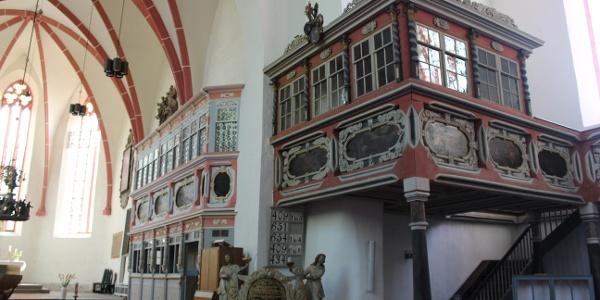 Stadtkirche St. Marien Weida - Innenansicht