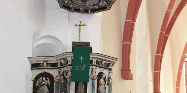 Stadtkirche St. Marien Weida - Kanzel
