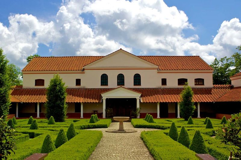 Foto: Archäologiepark Römische Villa Borg