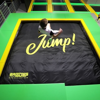 Air Bag N-FLOW Trampolinarena Netphen