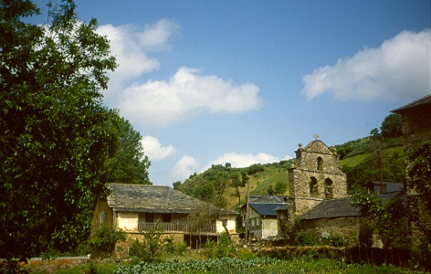 Portela del Valcarce: Kirche