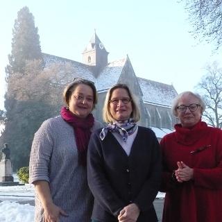 Das Team - V. Schiele, S. Wacker, J. Halder