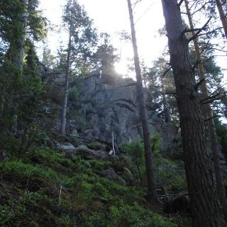 Auf dem Felsenweg