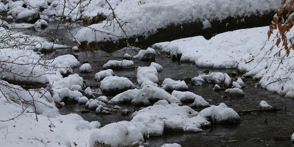 Tél a vadregényes Réka-völgyben