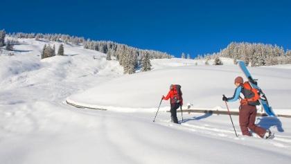 Aufstieg Skitour