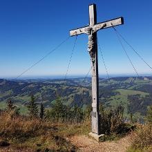 Foto von Wanderung: Tour 5: Übers Immenstädter Horn (1.489 m) – Die ganze Vielfalt des Naturparks • Allgäu (21.12.2018 11:30:00 #1)
